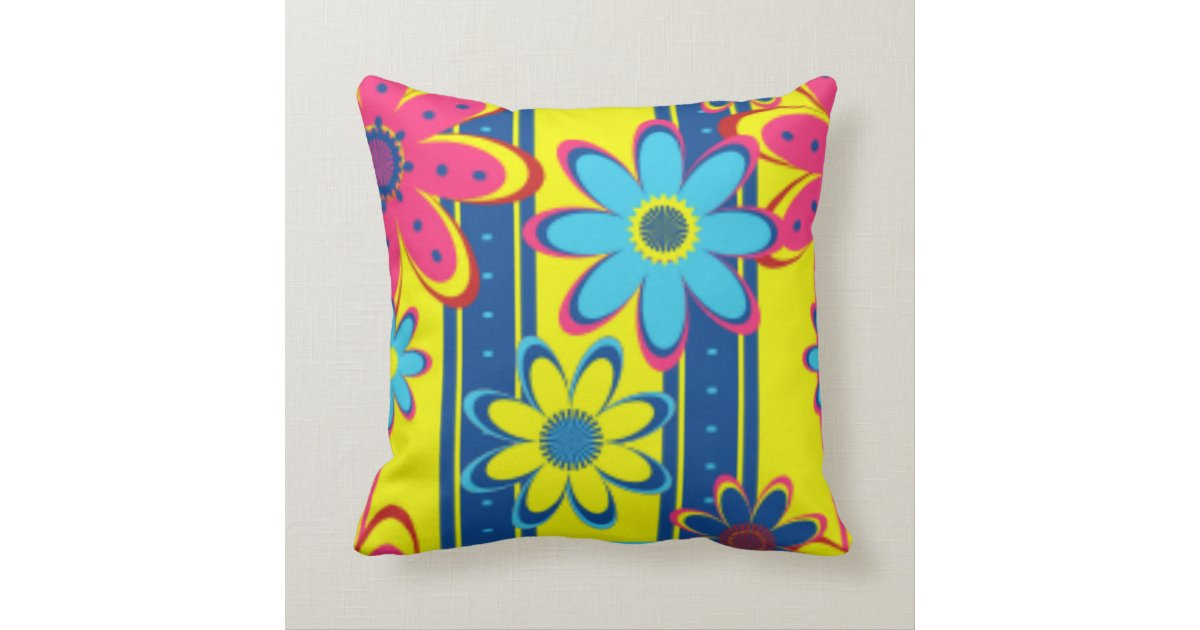 Bright Yellow Decorative Pillows : PILLOW HEAVEN THROW PILLOW - BRIGHT YELLOW - GIFTS Zazzle