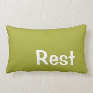 Pillow in Pear Green for Resting Pillow
