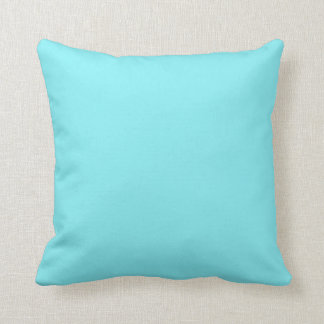 Pillow in Turquoise Solid Color