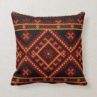Pillow Large Ukrainian Cross Stitch Embroidery