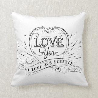 pillow love you