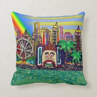 Pillow | Luna Park Rainbow 1