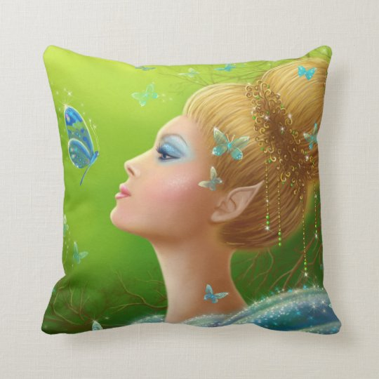 Pillow Magic butterflies