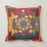 PILLOW - Mandala of the 5 Earth Elements