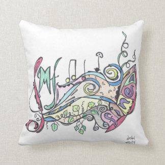 pillow--mf music throw pillow