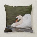 Pillow: Mute Swan