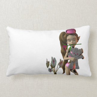 Pillow neck cushion cushion elf Fee Lola