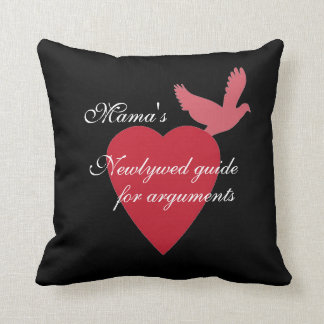 Pillow~ Newlywed's guide to arguments Throw Pillow