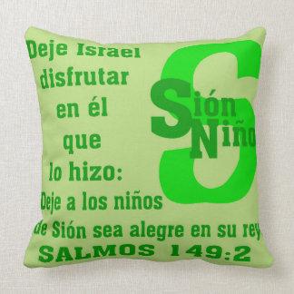 pillow_Niño Sión 20x20 Cojín Decorativo