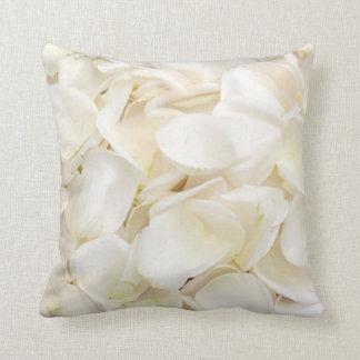 Pillow of White Rose Petals