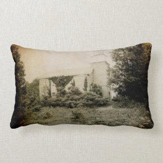 Pillow-Old Stone Church Throw Pillows