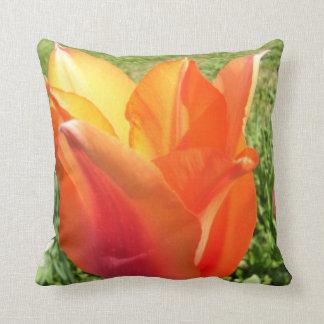 Pillow - Orange Tulip