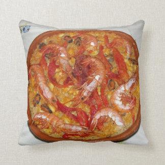 Pillow Paella De Mariscos