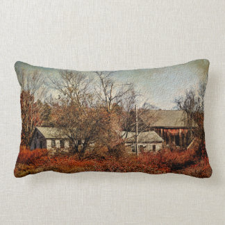Pillow-Past Years at the Farm
