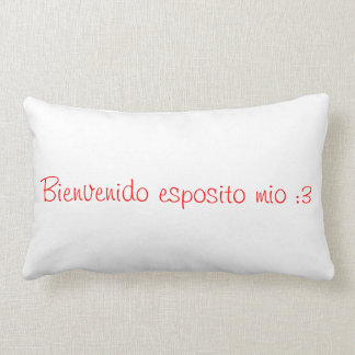 Pillow pillow esposito welcome mine: 3