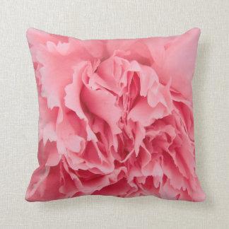 Pillow Pink Carnation Close Up