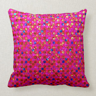 Pillow Polka Dot Sparkley Jewels