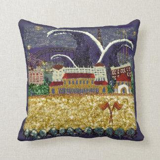 Pillow | Purple Haze | Sequin Dreams Studio