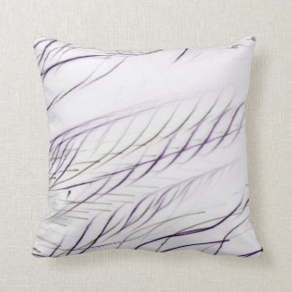 Pillow purple stripes art deco