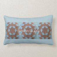 Pillow - Quilt pattern - Castle