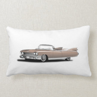 pillow,retro car,cadillac throw pillow