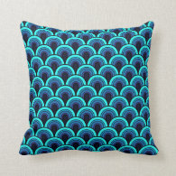 Pillow Seamless retro pattern