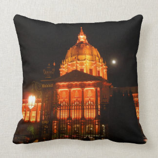 Pillow - SF color over City Hall