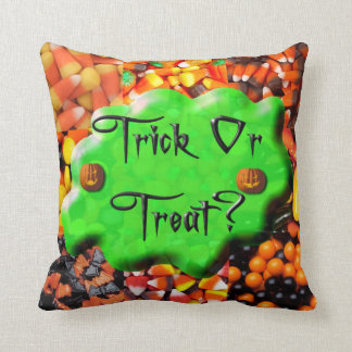 Pillow - Slimy Trick or Treat on Candies