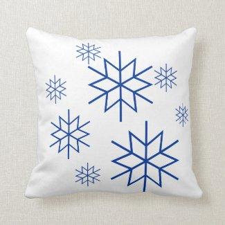 Pillow - Snowflakes