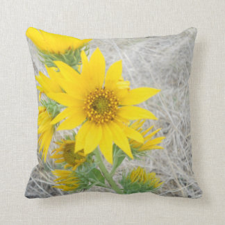 Pillow Sunflower Photography Nature Bright Yellow