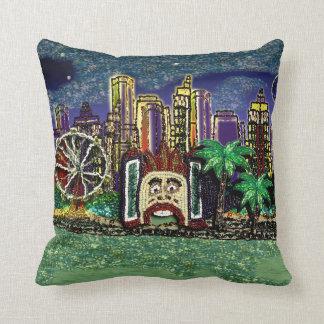 Pillow | Sydney Luna Park | Sequin Dreams Studio