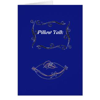 Pillow Talk Greeting Card