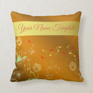 pillow,temlate, floral holiday, elegant, ,color, throw pillow
