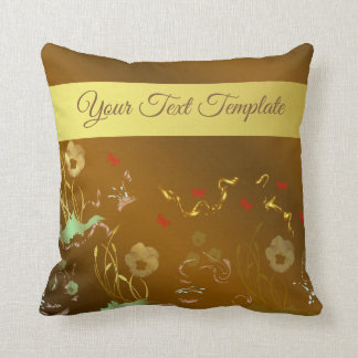 pillow,temlate, floral holiday, elegant, throw pillow