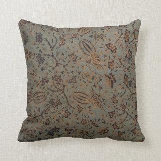 Pillow - Traditional Javanese Batik Fabric