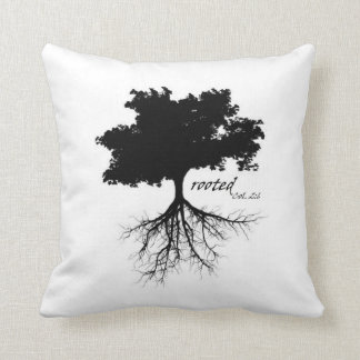 Pillow (tree and roots)
