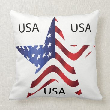 USA Themed pillow - USA