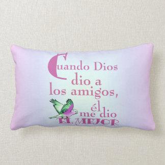 Pillow-When God Gave© Amigos Throw Pillow