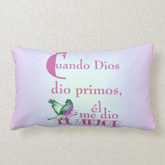 Pillow-When God Gave Cousins _ Primos© Pillow