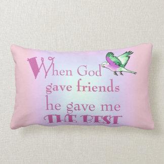 Pillow-When God Gave Friends© Pillow