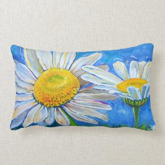 Pillow: Windswept Daisies! Lumbar Pillow