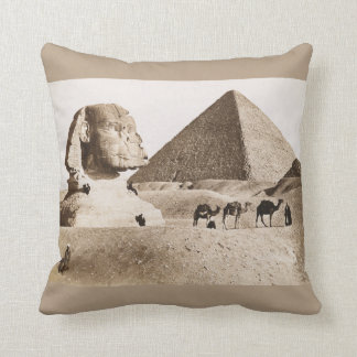Pillow with a vintage picture