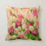 Pillow with Bunch of Flowers