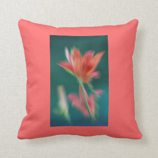 Pillow with Coral Lily!