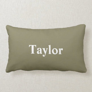 Pillow with Custom Name