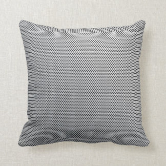 Pillow with Silver Steel Mesh