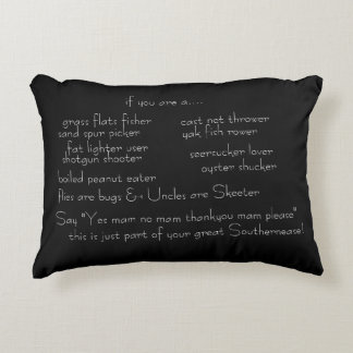 Pillow with Southern Roots