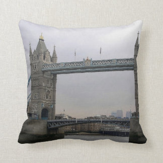 Pillow with Tower Bridge over the Thames River