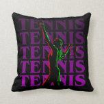 Pillow Women's Tennis 1 Purple Dark