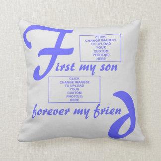pillowBurst de Azul-Para siempre mi hijo Almohada